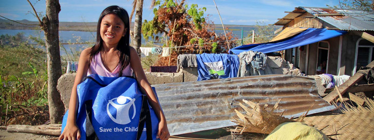 philippines typhoon haiyan emergency kits